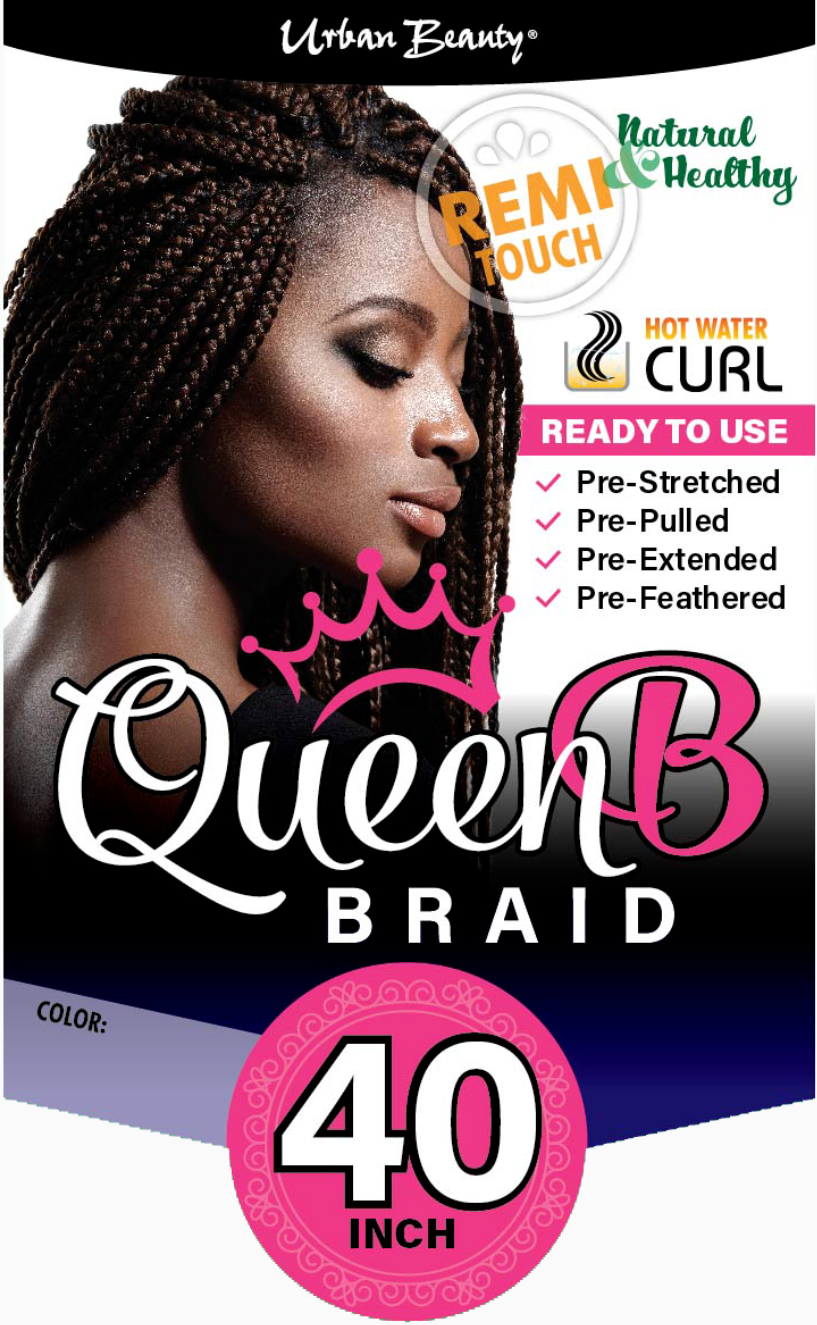 Urban Beauty Pre Pulled Queen B Braiding Hair 40 Hair Depot Online